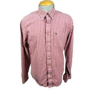 Abercrombie & Fitch Striped Casual Shirt XXL